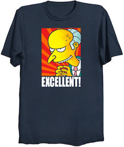 The Simpsons Mr. Burns Excellent! T-Shirt