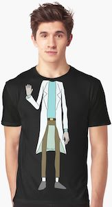 Rick Sanchez Costume T-Shirt