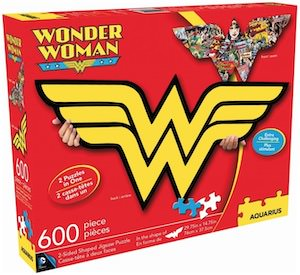 Double Sided Wonder Woman Puzzle