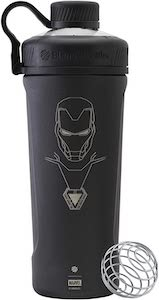 Metal Iron Man Shaker Bottle