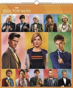 2021 13th Month Doctor Who Special Edition Wall Calendar