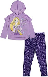 Kids Rapunzel Hoodie And Leggings Set