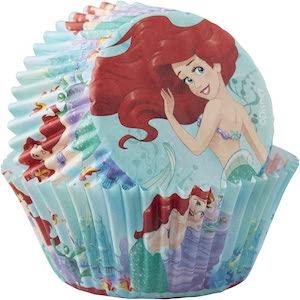 Disney Ariel The Little Mermaid Baking Cups