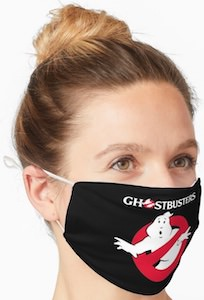 Ghostbusters Logo Face Mask