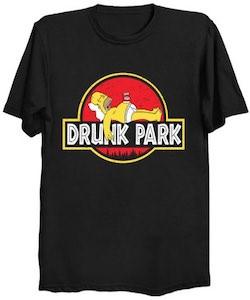Homer Drunk Park T-Shirt