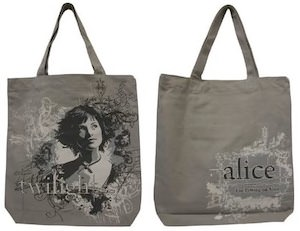 Twilight Alice Tote Bag