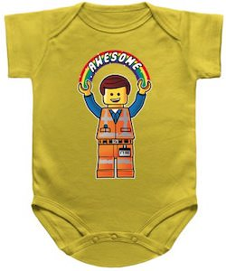 Emmet Awesome Baby Bodysuit
