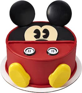 Mickey Mouse Cake Topper Decoration Set