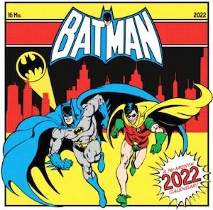 2022 Batman Wall Calendar
