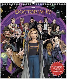 2022 Doctor Who Comic Poster Calendar
