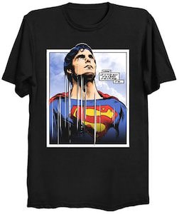 Superman Looking At The Sky T-Shirt