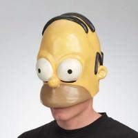 Homer Simpson Half Cap Mask