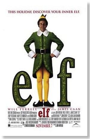 Elf Christmas movie poster