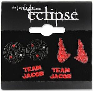 Team Jacob Earrings Set