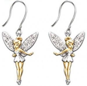 """Tinker Bell """"Believe"""" Earrings"""