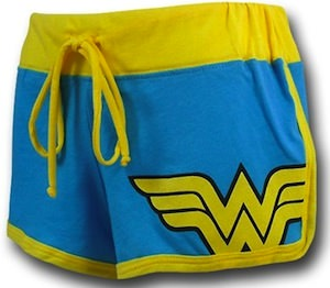 Wonder Woman Short Shorts