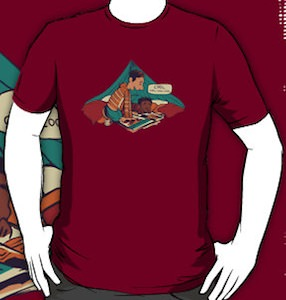 Troy And Abed Pillow Fort T-Shirt