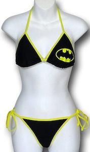 Batman Logo Bikini