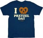 The Office I Love Pretzel Day T-Shirt