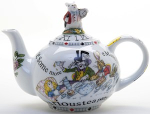 Alice In Wonderland Teapot