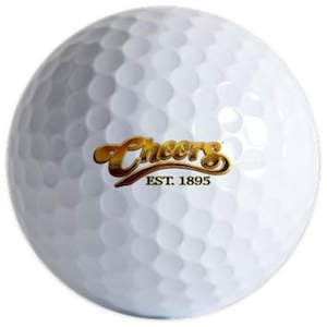 Cheers Logo Golf Ball