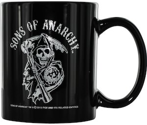 Sons Of Anarchy Reaper Logo Mug