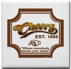 Cheers Logo Magnet