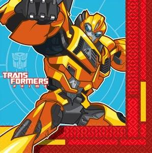 Transformers Bumblebee Napkins