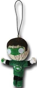 Green Lantern Voodoo Doll Key Chain