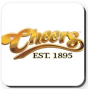 Cheers Logo Coaster