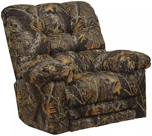 Duck Dynasty Phil Robertson Camo Recliner Chair