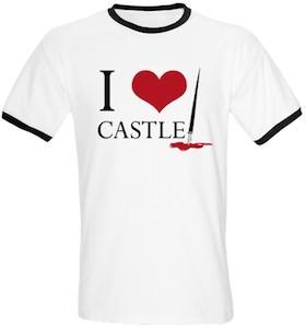 I Love Castle T-Shirt