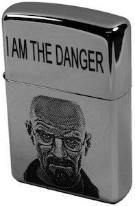 Breaking Bad Walter I Am Danger Lighter