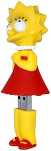 Lisa Simpson USB thumb Drive