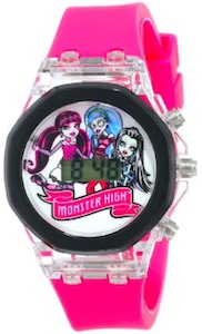 Monster High LCD Flashing Lights Watch