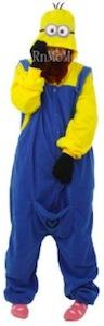 Minion onesie pajama