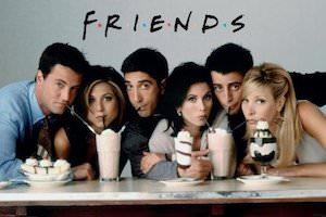 Friends Milkshake Poster
