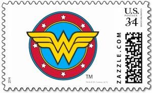 Wonder Woman Postage Stamp