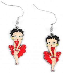 Betty Boop Dangle Earrings
