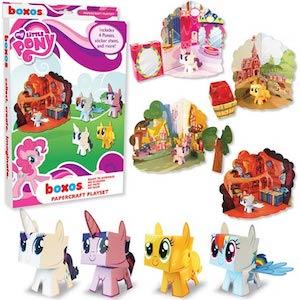 My Little Pony paper activity set