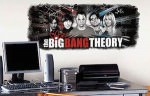 The Big Bang Theory Wall Decal