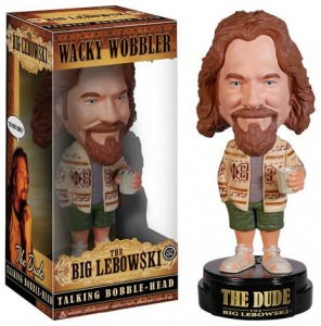 Big Lebowski The Dude Talking Bobble Head