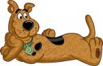 Scooby-Doo Cuddle Pillow