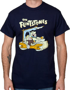 Flintstones car t-shirt