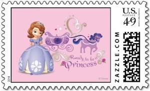 Sofia The First Postage Stamp