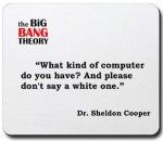 The Big Bang Theory mousepad
