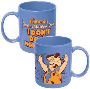 Fred Flintstones I Don't Do Morning Mug