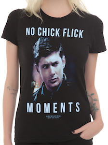 Supernatural girls t-shirt
