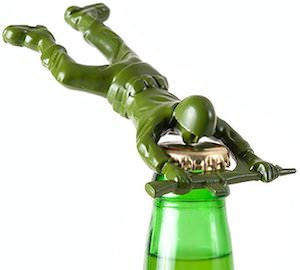 Toy Story Green Army Man Bottle Opener