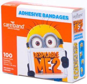 Despicable Me Minion Adhesive Bandages